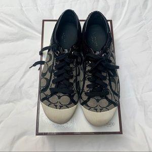 Sequin coach sneakers